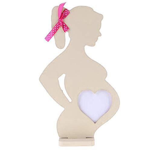 Dengofng Suministros de Boda con Cinta 3D Mujeres Embarazadas Simulación...