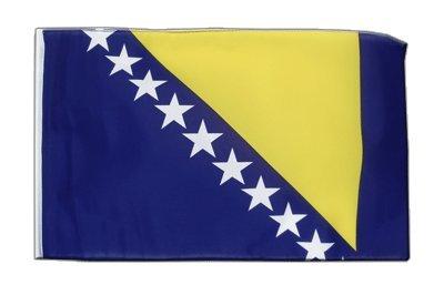 Bosnien Herzegowina Flagge, bosnische Fahne 30 x 45 cm, MaxFlags®