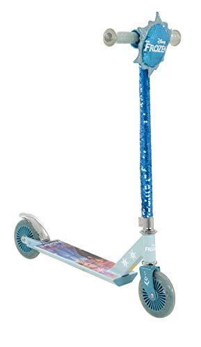 Frozen M004599 2 Inline Sequin Scooter and Purse, Multicoloured, Assembled Dimensions: L67cm x W30cm x H80cm