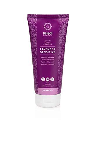 khadi Naturkosmetik Ayurvedisches Elixier Shampoo Lavender Sensitive 200 ml