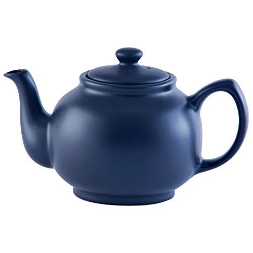 Price & Kensington - Teekanne mit Deckel - klassische englische Teekanne - Navy Blue - 6 Tassen