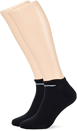 Trigema Herren Kurzschaft-Socken Doppelpack Sportsocken, Schwarz (schwarz 008), 39/42 (2er Pack)