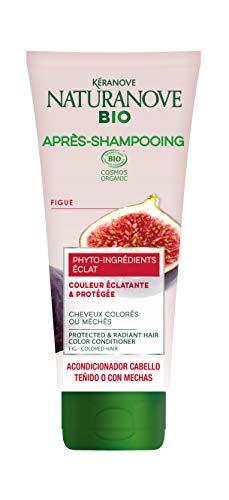 NAT&NOVE BIO après-shampooing masque 2en1 éclat certifié bio pour cheveux colorés