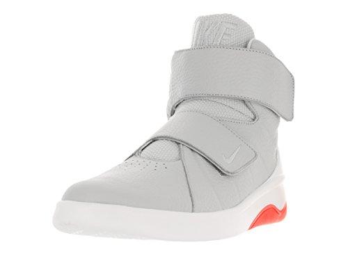 Nike Herren Marxman Basketballschuhe, Beige (Light Bone/Light Bone-Sail-Total Crimson), 41 EU