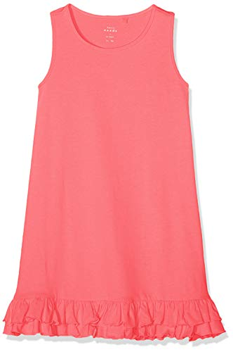 Name IT NOS Nkfvione Tank Dress Noos Vestido Amarillo Cadmium Yellow, 128 para Niñas