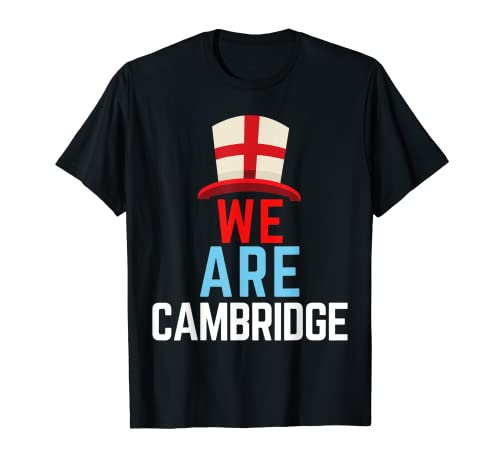 We Are Cambridge Inglaterra Bandera Deportes Camiseta