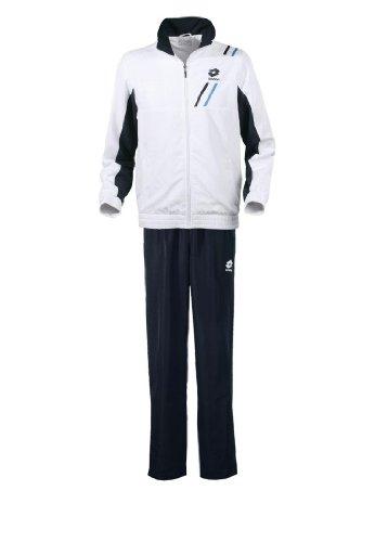 Lotto Sport Suit Set Db Boy, Ragazzo, White/Deep Navy, Bianco, XL