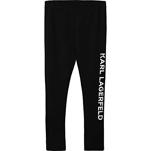 Karl Lagerfeld Leggings Kids Kind SCHWARZ 04A