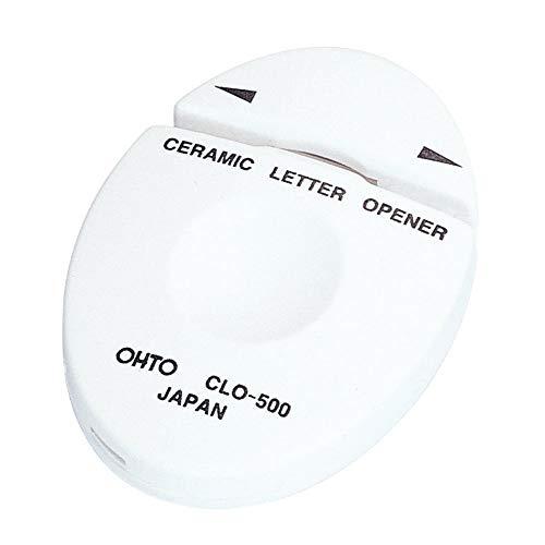 オート セラミックレターオープナー 白 5パック BCLO-500シロ