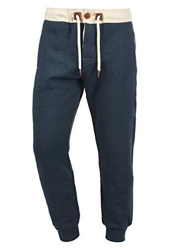 !Solid TripPant Herren Sweatpants Jogginghose Sporthose mit Fleece-Innenseite und Kordel Regular Fit, Größe:XXL, Farbe:Insignia Blue Melange (8991)