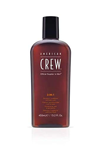 Men Classic 3-IN-1 Shampoo Conditioner - Body Wash - 450ml/15.2oz