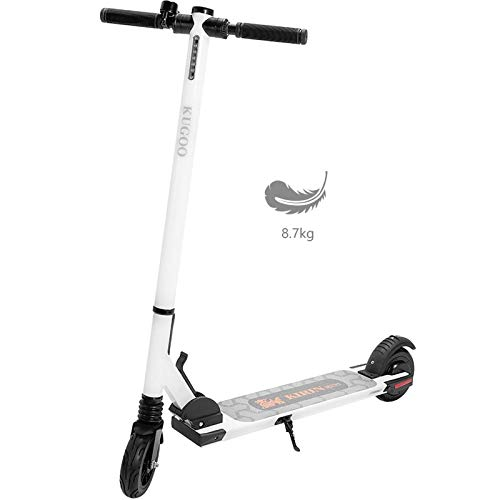 pequeño y compacto Adult ICE WWHWL electric scooter, powerful 150 W motor, top speed 25 km / h, solid rubber tires …