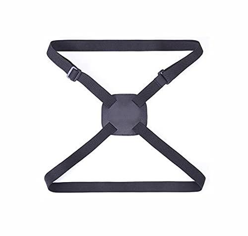 Tiardey Cinturón elástico para Atar Equipaje Cinturón Ajustable para Maleta - Accesorios para Bolsa de Viaje livianos y duraderos - Negro