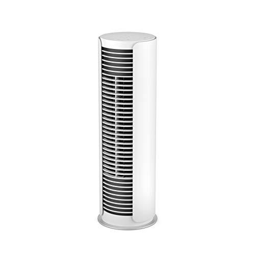 Stadler Form Peter Little P-015 - Ventilatore da tavolo con funzione girevole, pannello touch e 4 livelli di potenza, colore: Bianco