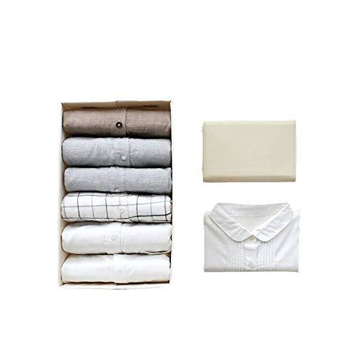 Ruitx Vêtements Dossier Conseil T-Shirts Pliage Planche à Linge pli Organisateur pour Robe Pantalon Cavaliers Serviette 16.5 x8x 0.2 inch 20 Pack