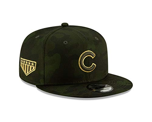 New Era Chicago Cubs 2019 Armed Forces Day 9FIFTY Adjustable Snapback Hat