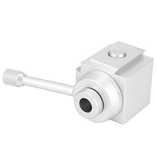 Poste de herramienta de mini torno, rápido práctico, duradero, práctico, mini poste de herramienta de cambio rápido, rectificado de precisión para mini torno de banco