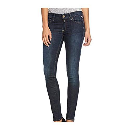 Replay Damen Hyperflex Laserblast LUZ Jeans 5 Pocket Jeanshose WX689 Größe W31/L32