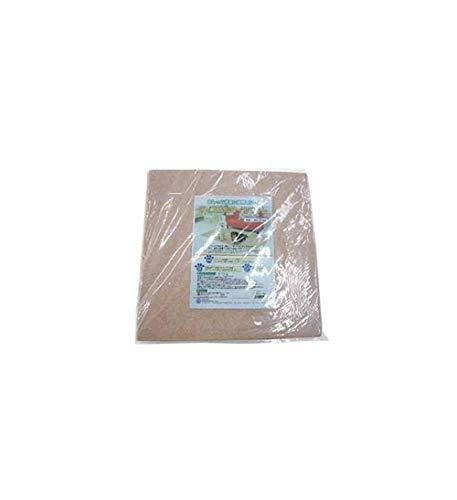 奥特殊紡績 ペット用品 ディスメル タイルマット(消臭マット) 8枚組 OK234 ベージュ 45×45cm