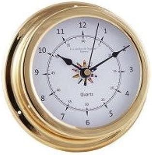 4 Inch Dia laiton nautique /Église S nautique Antiquit/és vaches navires Marine Horloge Bell