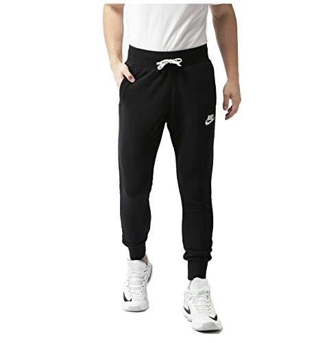 Nike Men's Heritage Jogger Pants (Black, Large)