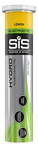 Science in Sport Comprimidos de hidratación, Sabor Limón - 1 tubo x 20 Comprimido