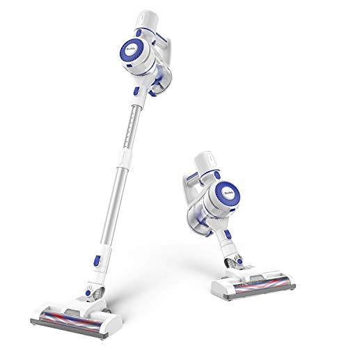 GeeMo Cordless Vacuum Cleaner, 4 in 1 Stick Vacuum with 150w Powerful Suction, Anti-Static Design, Ideal for Pet, Hardwood Floor, Carpet, Car, E3