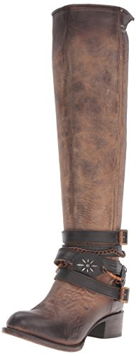 Freebird Women's Abbot Harness Boot, Brown, 6 M US