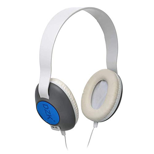DZK On Ear(Over Head) Headphones with Microphone, Over the...