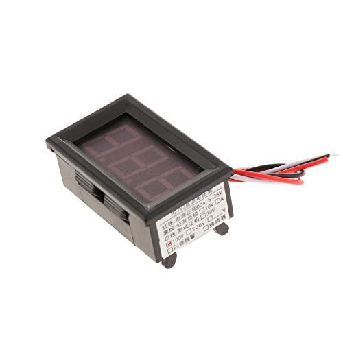 DC 0-100V Digital Voltmeter Voltanzeige Spannungsmesser Spannungsprüfer, Benötigen Zusätzliche Hilfsenergie