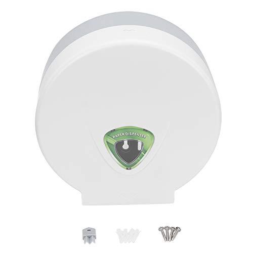 Toilettenpapierspender Wandhalterung Badezimmer Toilettenpapierhalter Kunststoff-Taschentuchbox Runder Papierhandtuchhalter für den gewerblichen Heimgebrauch