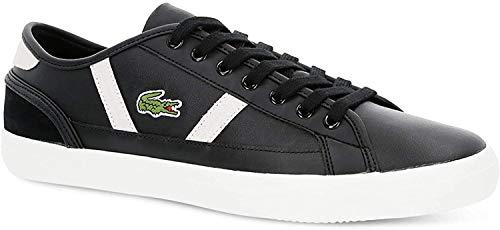 Lacoste Herren Sideline 119 3 CMA Sneaker, Schwarz (Blk/Off Wht 454), 42 EU