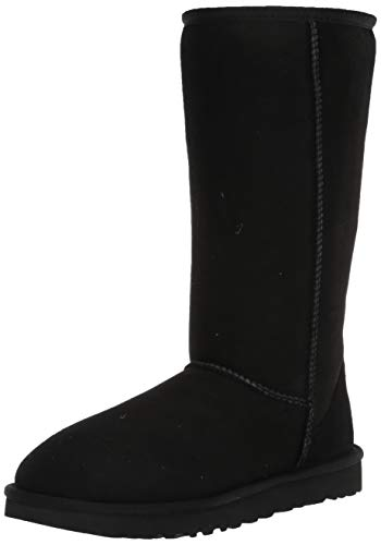 UGG Women's Classic Tall II Boot, Black, 9