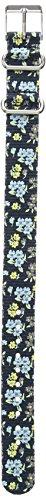 Timex TW7C03900 Weekender 16mm Blue Floral Fabric Slip-Thru Strap