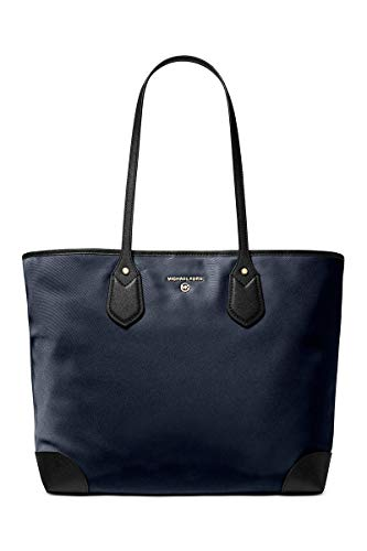 MICHAEL Michael Kors Eva Large Tote Navy Multi One Size