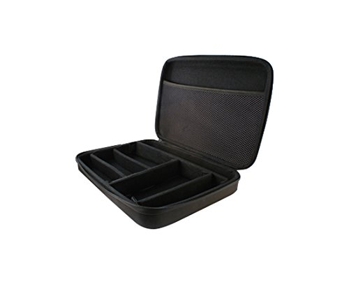 Ksix BXGOBAG02 - Bolsa para cámaras Deportivas y Accesorios pequeña, Color Negro