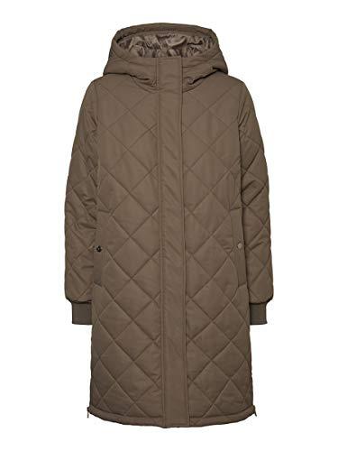 VERO MODA Damen VMLOUISE 3/4 Jacket Anorak, Bungee Cord, S