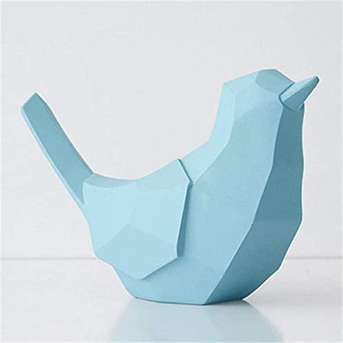 DAQ Huchas, Geometría Pájaros Bancos de Dinero Estatua Origami Animal Hucha Resina Artesanía Decoración del hogar Accesorios para Sala de Estar