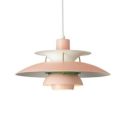 Nordic Modern PH5 Lámpara colgante simple E27 color araña metal paraguas lámpara...