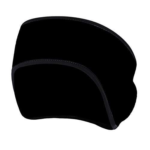 Colcolo Tiara Aquecedora de Ouvido para Clima Frio Tiara Aquecedora Protetores de Ouvido de Lã para Mulheres Homens Adultos Crianças Corrida Ao Ar Livre Cicli - Preto