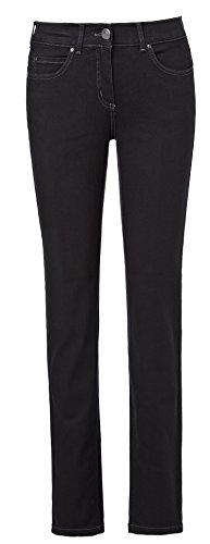 Pamela Superstretch Jeans Shaping-Jeans Stretchhosen Damen 32-46 * Bitte 2 Nummern Kleiner Bestellen !!! - schwarz (42)