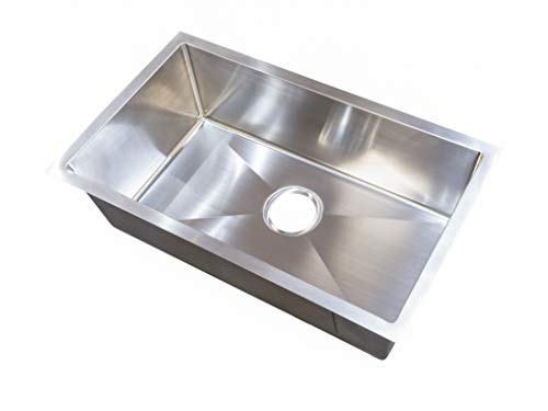 Better Bath Single Square Sink - Stainless Steel | Amazon