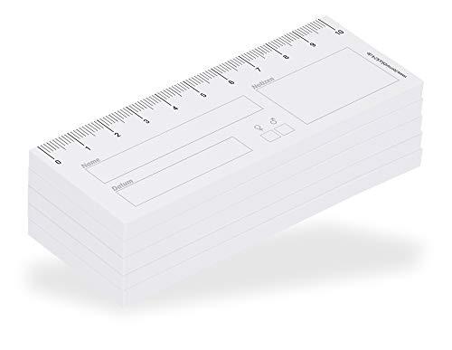 Haftnotiz-Wundlineal 10 cm (5 Stk.)
