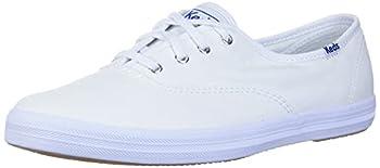 Keds Women s Champion Sneaker,White Canvas,8 M US