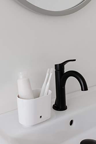 Umbra Step Toothbrush Holder, White