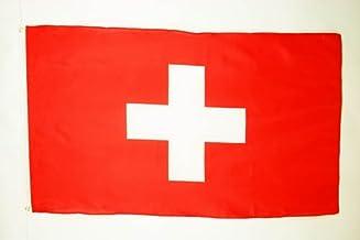 Zwitserse vlag 150x90 cm - Zwitserse vlaggen 90 x 150 cm - Banner 3x5 ft Hoge kwaliteit - AZ FLAG