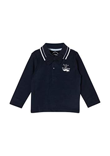 s.Oliver Junior Baby-Jungen 405.10.011.13.130.2062143 Polohemd, Blue, 92