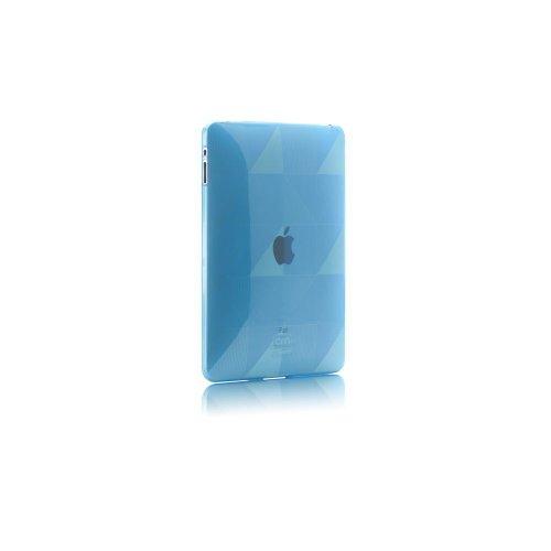 Case-Mate CM011194 Gelli Checkmate Schutzhülle für Apple iPad, Thermoplastik, blau