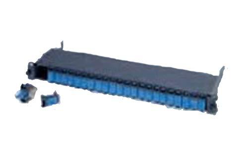 Simon CP56A24F Panel, 1 U, 19 inch, modulair, 24 poorten, Rj45, FTP, Cat.6A (Apantallados)
