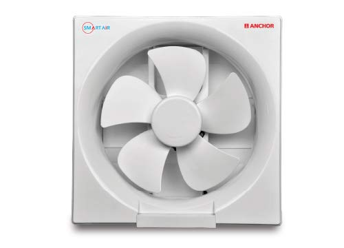 Anchor Smart Air High Speed Ventilation Exhausted Fan 200mm (White)